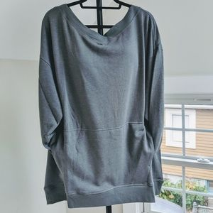 NWT Fabletics Zaylee Cross Front Sweater
